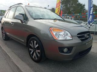 Used 2010 Kia Rondo EX-EXTRA CLEAN-7 SEATS-LEATHER-SUNROOF-BLUETOOTH for sale in Scarborough, ON
