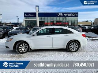 Used 2014 Chrysler 200 LX/HEATED SEATS/BLUETOOTH/AIR for sale in Edmonton, AB