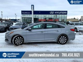 Used 2016 Hyundai Sonata SPORT TECH/NAVI/BLIND SPOT/BACK UP CAM/HEATED SEATS for sale in Edmonton, AB