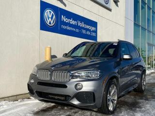 Used 2017 BMW X5 xDrive50i - M-SPORT! 445 HP ENGINE for sale in Edmonton, AB