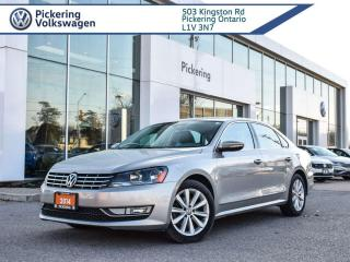 Used 2012 Volkswagen Passat 2.5L!! HIGHLINE!! AUTO!! LEATHER + LOADED! for sale in Pickering, ON