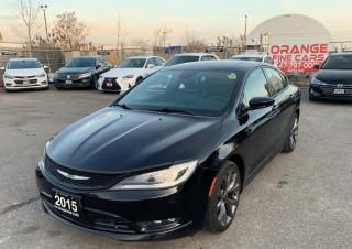 Used 2015 Chrysler 200 S for sale in Brampton, ON