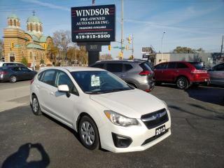 Used 2012 Subaru Impreza 2.0i for sale in Windsor, ON