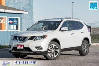 Used 2016 Nissan Rogue SL|AWD|Leather|Navi|Clean Carfax| for sale in Bolton, ON