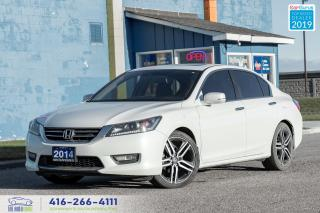 Used 2014 Honda Accord EX-L|Clean Carfax|Leather|Heated seats| for sale in Bolton, ON