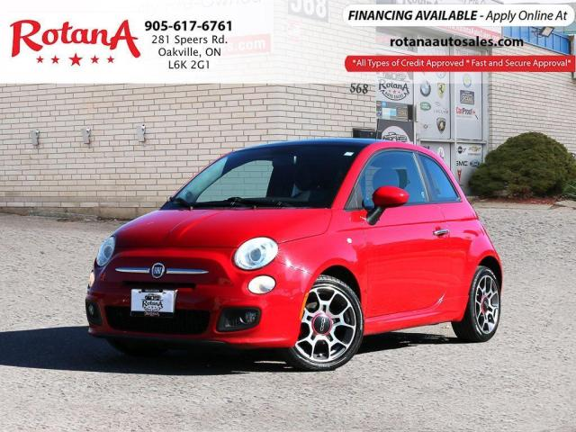 2012 Fiat 500 Sport_ACCIDENT FREE_SUNROOF_LEATHER