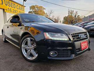 Used 2011 Audi A5 SLINE/AUTO/AWD/SUNROOF/LOADED/ALLOYS/2.0L Premium for sale in Scarborough, ON