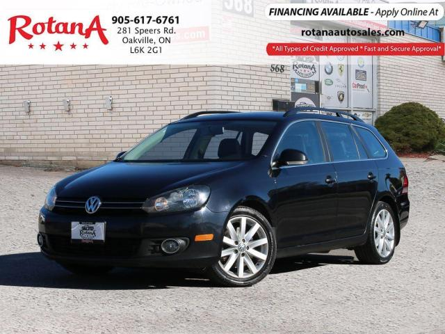 2013 Volkswagen Golf Wagon Highline_ w/Navi_Panormic Sunroof_Leather