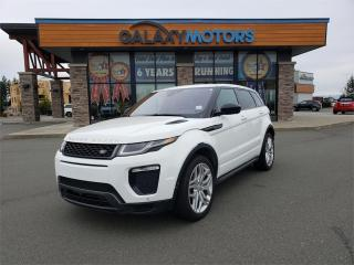 Used 2017 Land Rover Evoque PURE PREMIUM - AWD, Leather Interior, Navigation for sale in Courtenay, BC