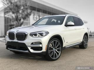 Used 2018 BMW X3 xDrive30i ULTIMATE -  LOCAL 1 OWNER for sale in Winnipeg, MB