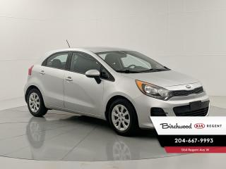 Used 2017 Kia Rio5 LX+ | Heated Seats | Bluetooth | Cruze Control | Power Options | for sale in Winnipeg, MB