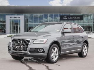 Used 2015 Audi Q5 2.0T Komfort for sale in Winnipeg, MB