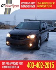Used 2014 Dodge Grand Caravan R/T  | DVD| LEATHER | $0 DOWN - EVERYONE APPROVED! for sale in Calgary, AB