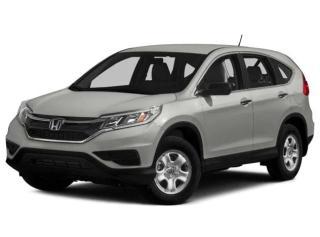 Used 2015 Honda CR-V LX - CAMERA + FINANCEMENT FACILE !!! for sale in Saint-Eustache, QC