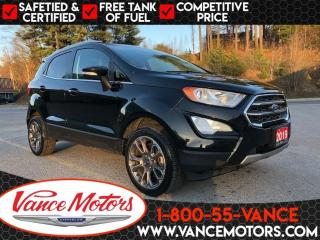 Used 2019 Ford EcoSport Titanium 4X4...SUNROOF*LEATHER*HTD SEATS! for sale in Bancroft, ON