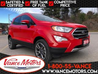 Used 2019 Ford EcoSport Titanium 4X4...LEATHER*HTD SEATS*BACKUP CAM! for sale in Bancroft, ON