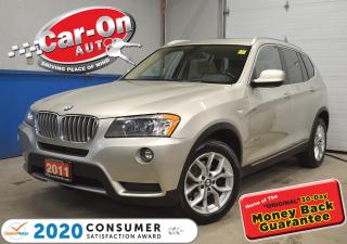 Used 2011 BMW X3 xDrive28i PREMIUM + TECH PKG for sale in Ottawa, ON