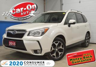 Used 2015 Subaru Forester 2.0XT LIMITED | LEATHER | NAVIGATION | PANO ROOF| for sale in Ottawa, ON