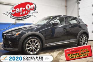 Used 2019 Mazda CX-3 AWD GT | NAPPA LEATHER | HEADS UP DISPLAY | NAVIGA for sale in Ottawa, ON