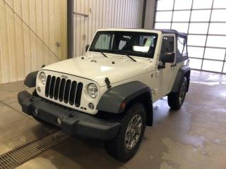 Used 2014 Jeep Wrangler SPORT,NO ACCIDENTS, LOW KMS!! for sale in Slave Lake, AB