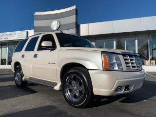 Used 2005 Cadillac Escalade PREMIUM 6.0L SUNROOF LEATHER 7-PASSANGER for sale in Langley, BC