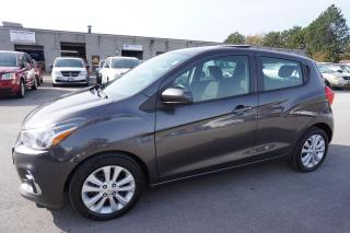 Used 2016 Chevrolet Spark 1LT CAMERA SUNROOF CERTIFIED 2YR WARRANTY *FREE ACCIDENT* ALLOYS BLUETOOTH for sale in Milton, ON