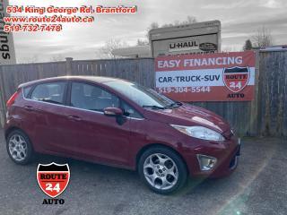 Used 2011 Ford Fiesta SES Hatchback for sale in Brantford, ON