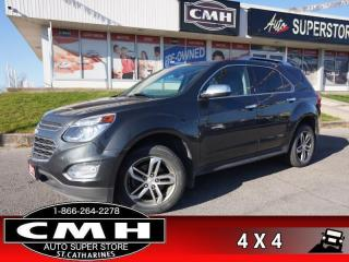 Used 2017 Chevrolet Equinox Premier  AWD NAV CAM ROOF LEATH HTD-SEATS for sale in St. Catharines, ON