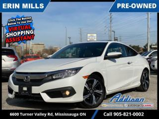 Used 2017 Honda Civic COUPE Touring  NAVI|SUNROOF|LANE WATCH +| for sale in Mississauga, ON