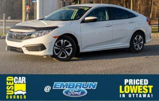 Used 2016 Honda Civic SEDAN LX for sale in Embrun, ON