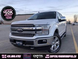 Used 2019 Ford F-150 LARIAT SuperCrew   *Apple CarPlay *No Accidents *Navigation for sale in Winnipeg, MB
