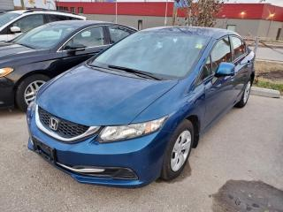 Used 2013 Honda Civic 4dr Auto LX Heated Seats for sale in Winnipeg, MB