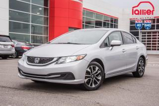 Used 2014 Honda Civic GARANTIE LALLIER 10ANS/200,000 KILOMETRES* LE PLUS GRAND CHOIX DE CIVIC USAGEES AU QUEBEC for sale in Terrebonne, QC