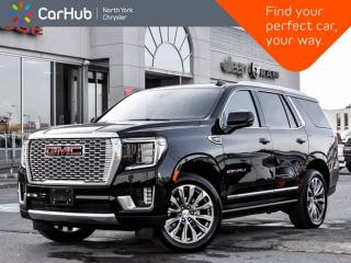 Used 2021 GMC Yukon Denali 4WD Panoramic Roof Bose Audio Vented & Heated Seats for sale in Thornhill, ON