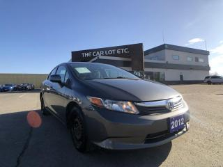 Used 2012 Honda Civic LX for sale in Sudbury, ON