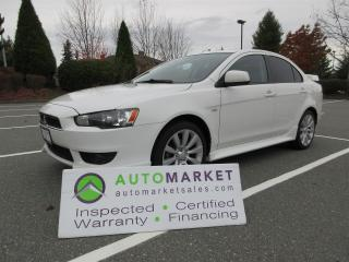 Used 2010 Mitsubishi Lancer GTS, LEATHER, AUTO, INSP, BCAA MBSHP, WARRANTY & FINANCING! for sale in Surrey, BC