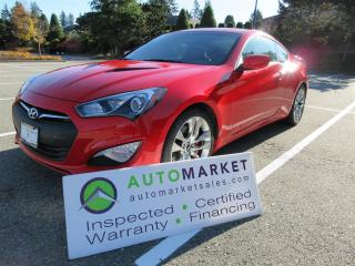 Used 2016 Hyundai Genesis R-SPEC, 3.8, 38km, 6sp, LOADED, INSPECTED, BCAA MBSHP, WARR, FINANCING! for sale in Surrey, BC