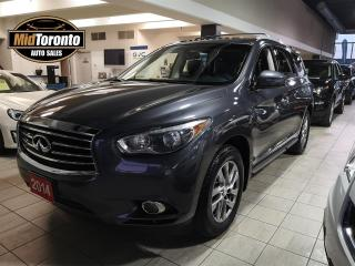 Used 2014 Infiniti QX60 4x4 | Power Roof | Leather | No Accidents | Excellent Condition | One Owner for sale in North York, ON