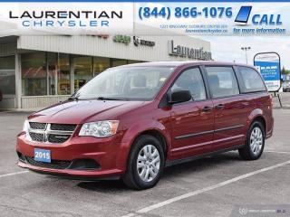 Used 2015 Dodge Grand Caravan Canada Value Package!! STOW & GO!! for sale in Sudbury, ON