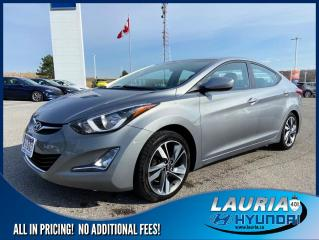 Used 2015 Hyundai Elantra GLS Auto - Sunroof/Bluetooth for sale in Port Hope, ON