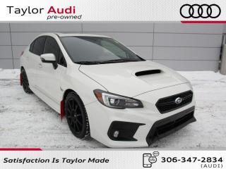 Used 2018 Subaru WRX Sport Auto, Local Trade for sale in Regina, SK