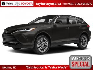 New 2021 Toyota Venza Limited Save $1500 for sale in Regina, SK