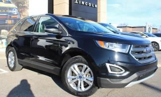 Used 2016 Ford Edge SEL PRE-OWNED, CERTIFIED! AWD! V6! LEATHER PANO ROOF NAVIGATION for sale in Hamilton, ON