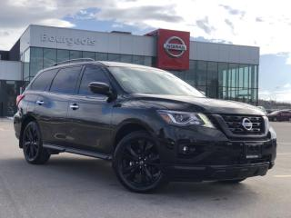 Used 2018 Nissan Pathfinder Midnight Edition LEATHER, NAVIGATION, SUNROOF for sale in Midland, ON