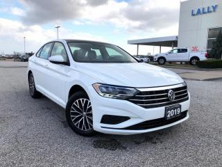 Used 2019 Volkswagen Jetta 1.4 TSI Highline Highline Auto|Leather|HTD seats|Sunroof|Apple CarP for sale in Leamington, ON