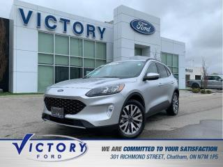 Used 2020 Ford Escape Titanium | 3.99% | AWD | ADAPTIVE CRUISE | NAV for sale in Chatham, ON