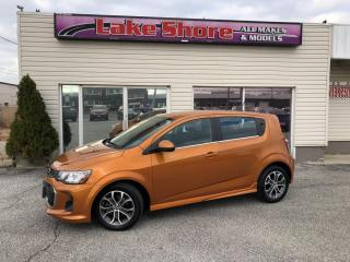 Used 2017 Chevrolet Sonic LT Auto LT BACK UP CAM for sale in Tilbury, ON