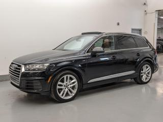 Used 2017 Audi Q7 TECHNIK/S LINE/BANG&OULFSEN/MASSAGE SEATS/SOFT CLOSING DOORS! for sale in Toronto, ON