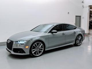 Used 2018 Audi RS 7 Sportback Performance PERFORMANCE/DRIVER ASSISTANCE PKG/CARBON TRIM! for sale in Toronto, ON