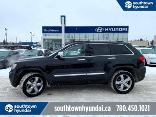 Used 2011 Jeep Grand Cherokee OVERLAND/5.7 HEMI/HEATED SEATS/PANO/AIR RIDE for sale in Edmonton, AB